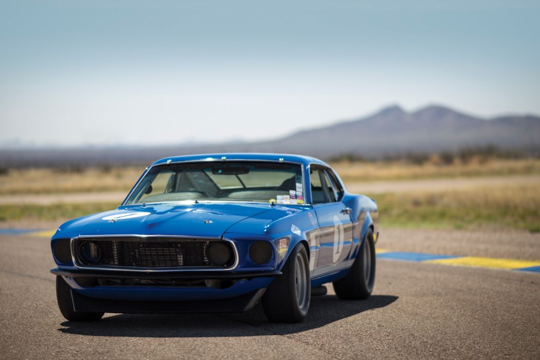 Ford Mustang Boss 302 Trans-Am Race Car 1969 wallpaper