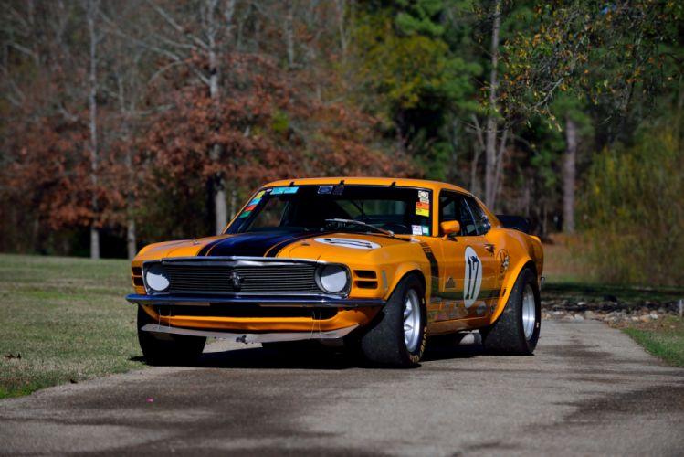 Ford Mustang Boss 302 Trans-Am Race Car 1970 wallpaper