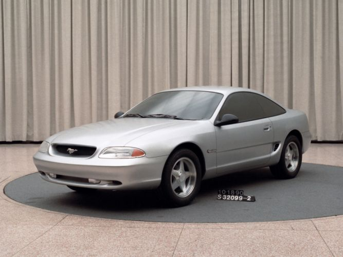 Ford Mustang Bruce Jenner Proposal 1990 wallpaper