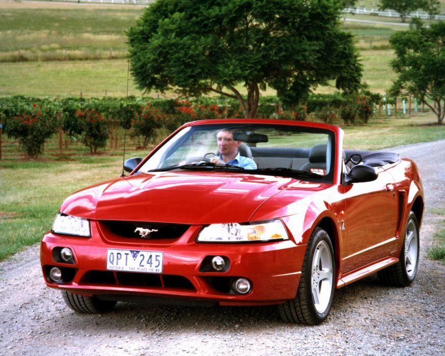 Ford Mustang Cobra Convertible 2001 wallpaper