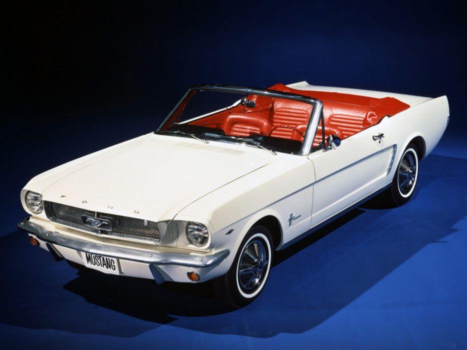 Ford Mustang Convertible 1964 wallpaper