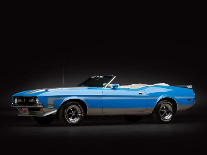 Ford Mustang Convertible 1973 wallpaper