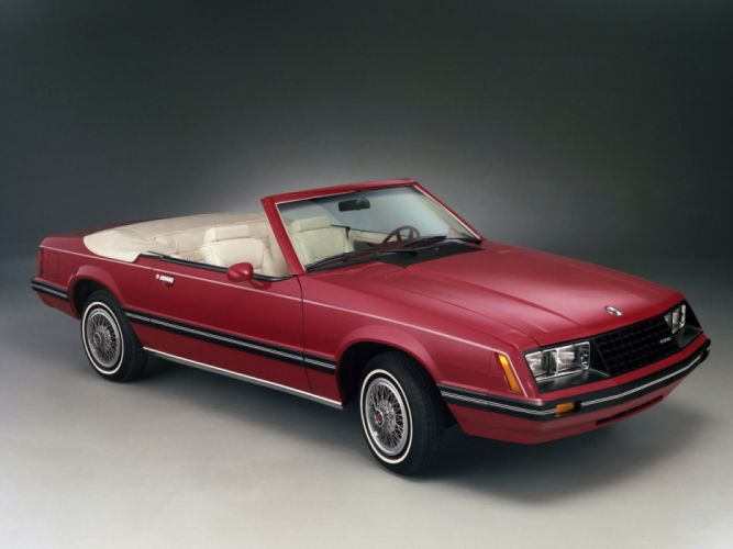 Ford Mustang Convertible 1982 wallpaper