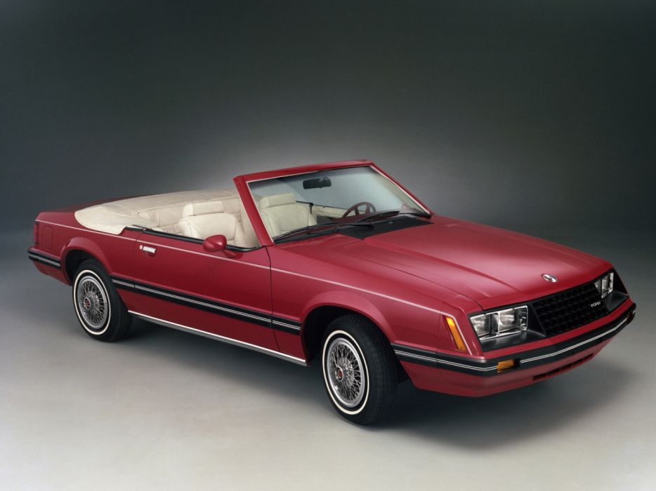 Ford Mustang Convertible 1982 wallpaper
