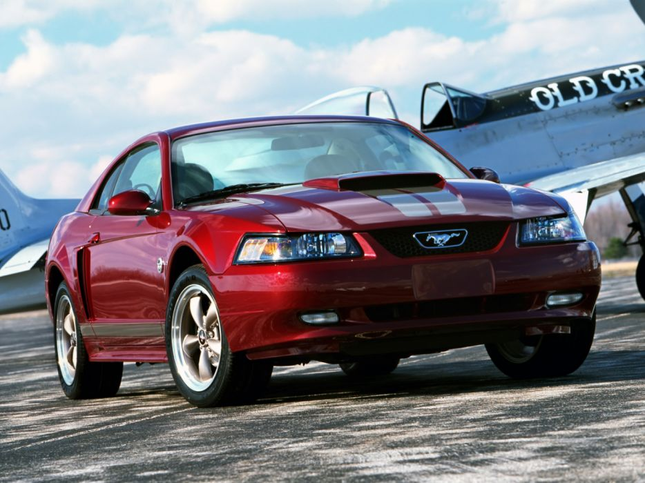 Ford Mustang Coupe 40th Anniversary 2004 wallpaper
