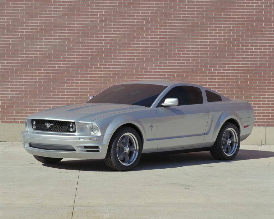 Ford Mustang Coupe Proposal 2005 wallpaper