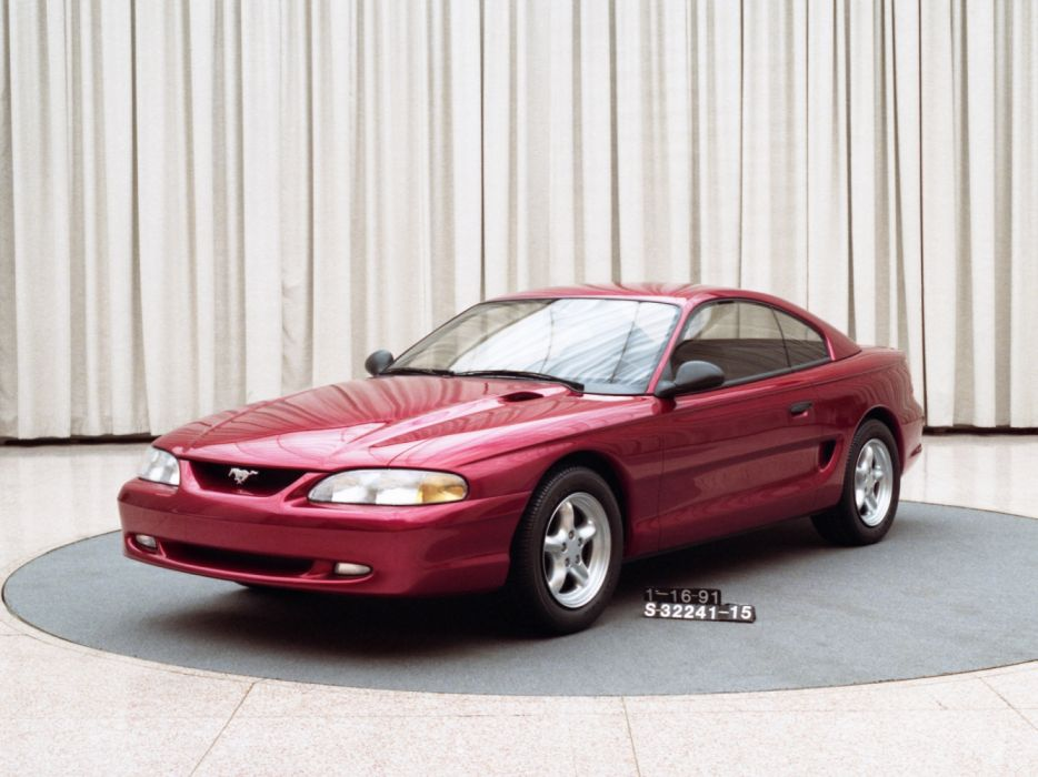 Ford Mustang Coupe Prototype 1991 wallpaper