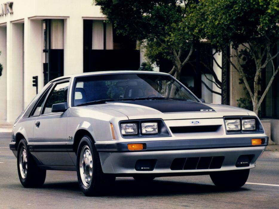 Ford Mustang GT 5 0 1986 wallpaper