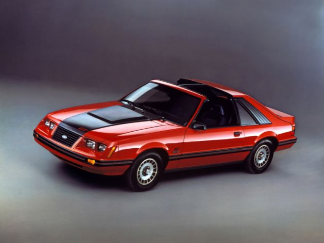 Ford Mustang GT 5 0 T-Roof 1983 wallpaper