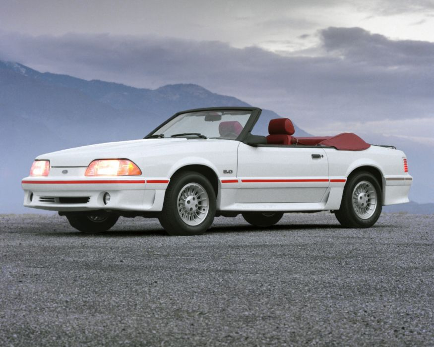 Ford Mustang GT 5 0 Convertible 1987 wallpaper