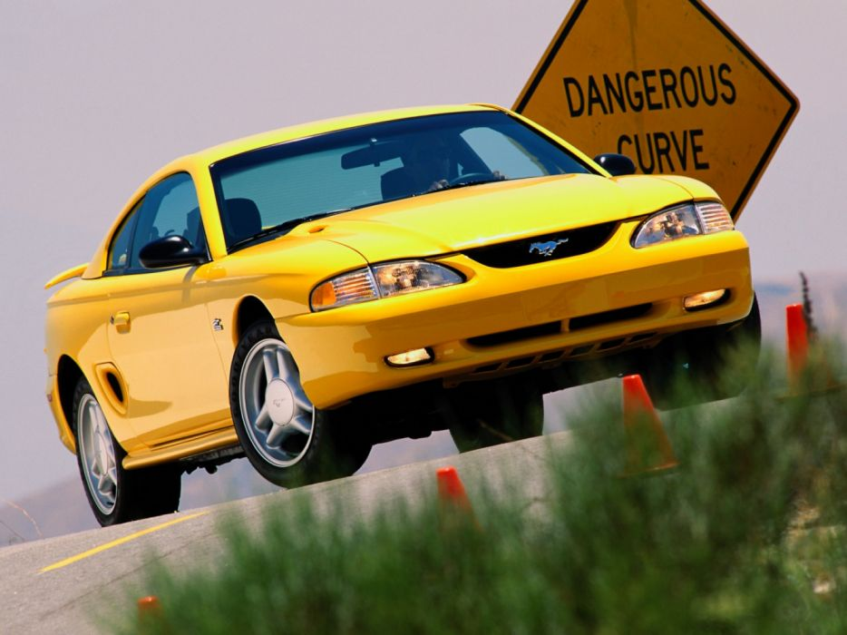 Ford Mustang GT Coupe 1993 wallpaper