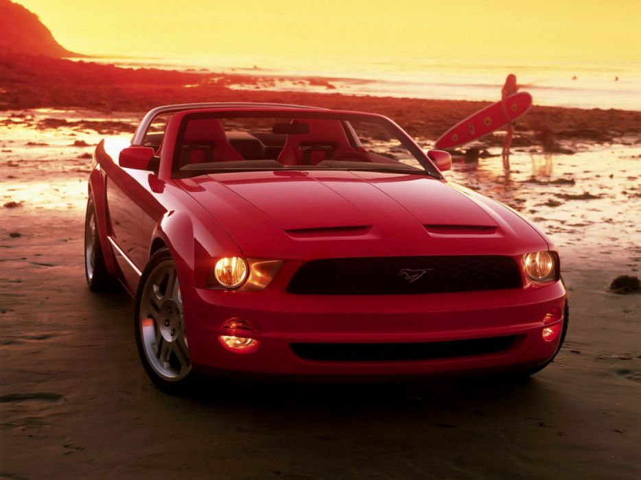 Ford Mustang GT Convertible Concept 2003 wallpaper