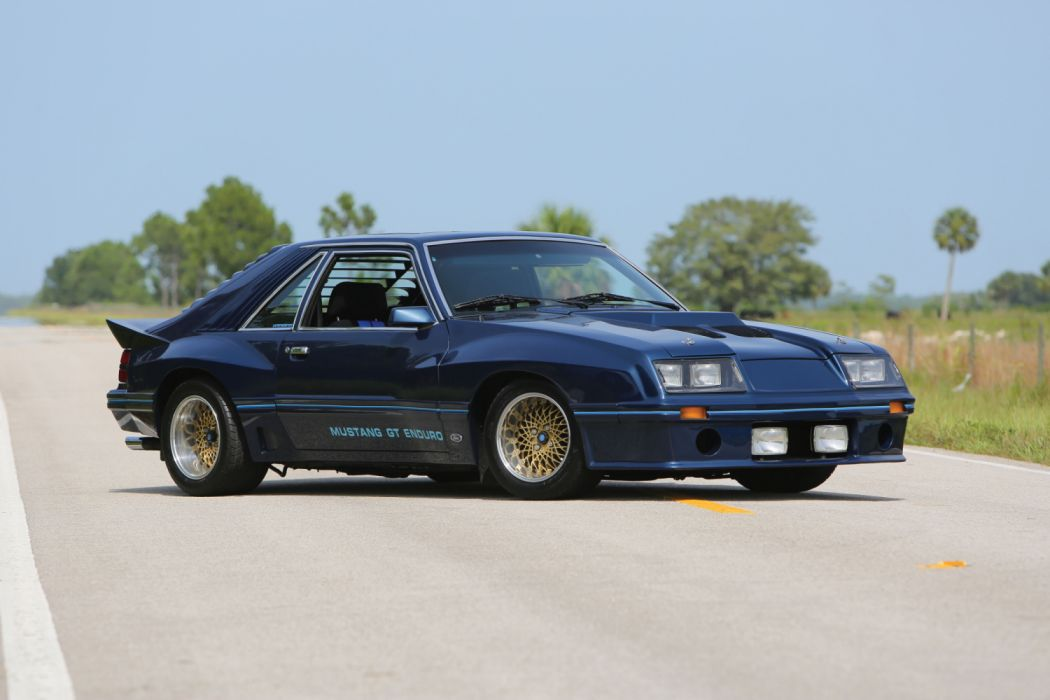 Ford Mustang GT Enduro Show Car 1980 wallpaper