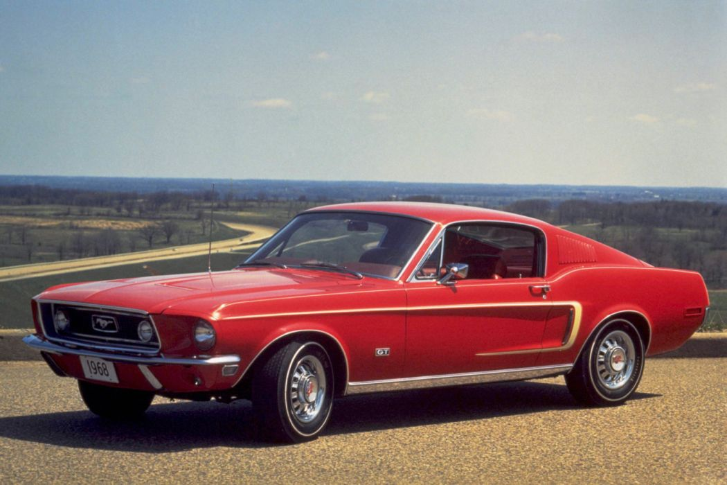 Ford Mustang GT Fastback 1968 wallpaper