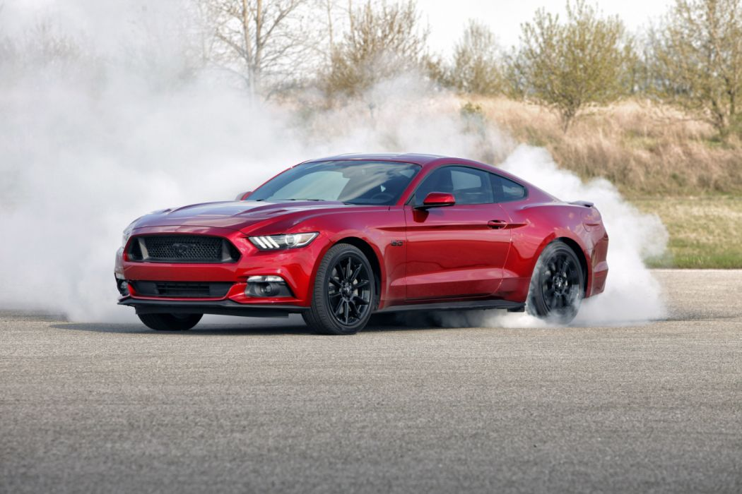 Ford Mustang GT Fastback Black Accent 2016 wallpaper