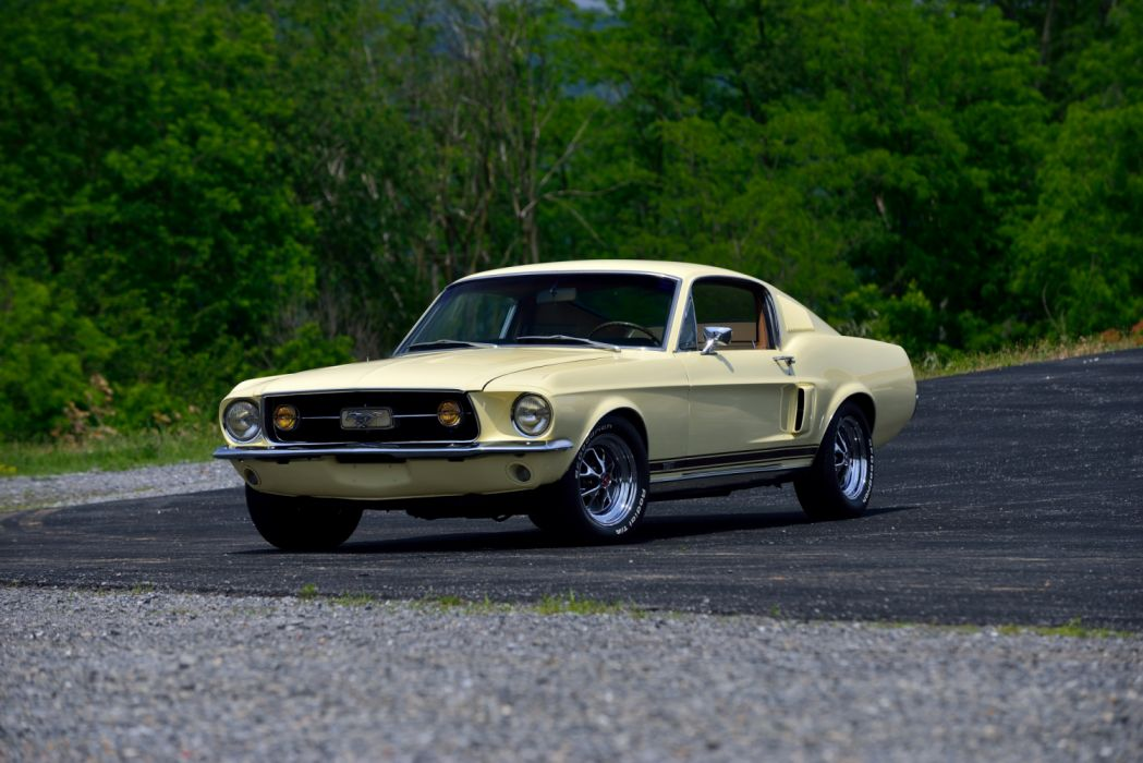 Ford Mustang GT-A Fastback 1967 wallpaper