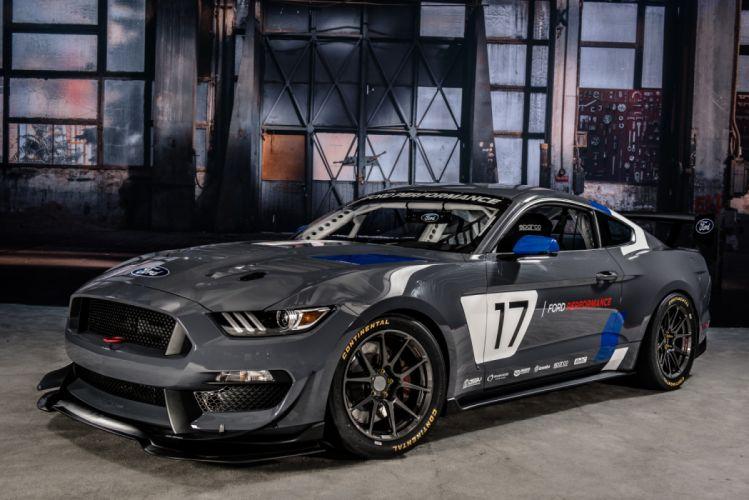 Ford Mustang GT4 Race Car 2016 wallpaper