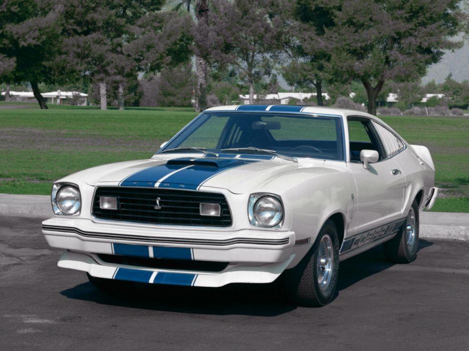 Ford Mustang II Cobra II 1976 wallpaper