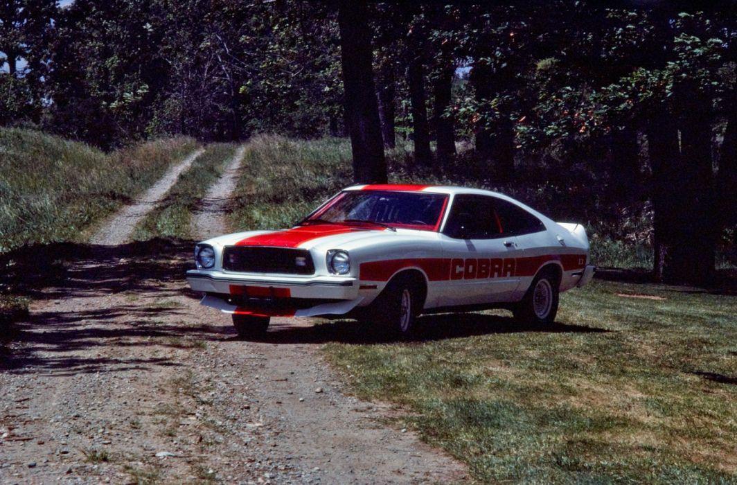 Ford Mustang II Cobra II 1978 wallpaper