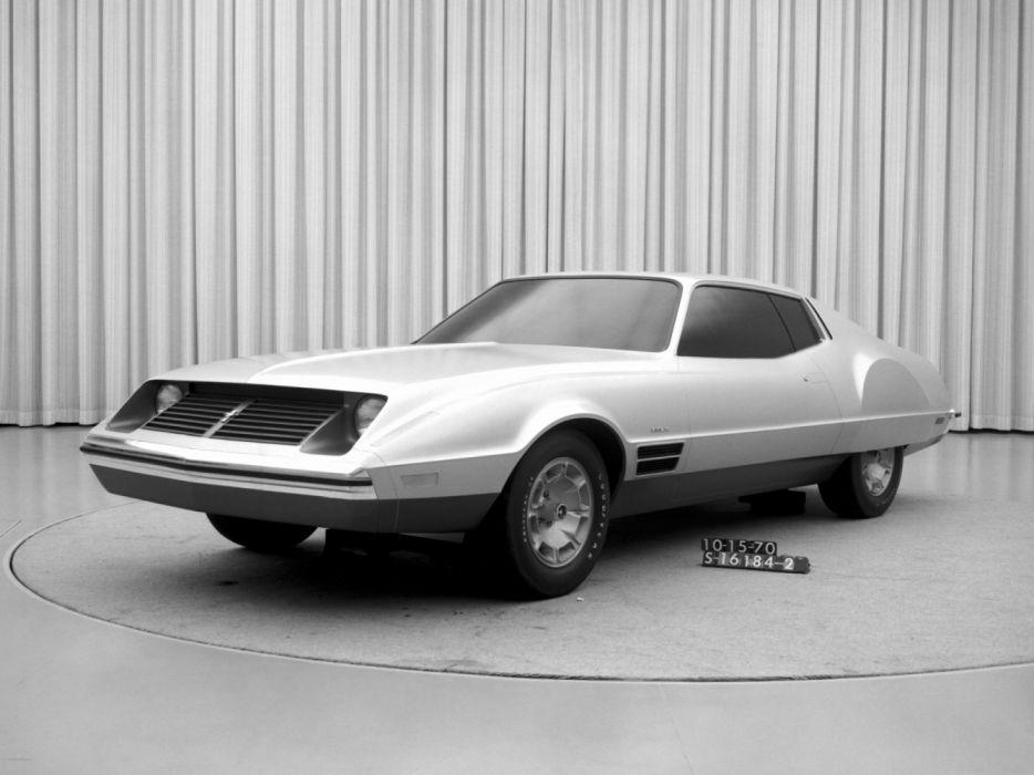 Ford Mustang II Proposal 1970 wallpaper