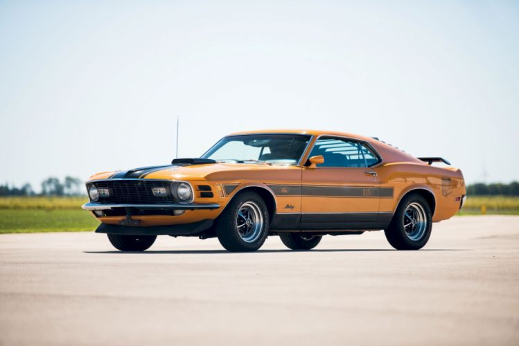 Ford Mustang Mach 1 351 Twister Special 1970 wallpaper