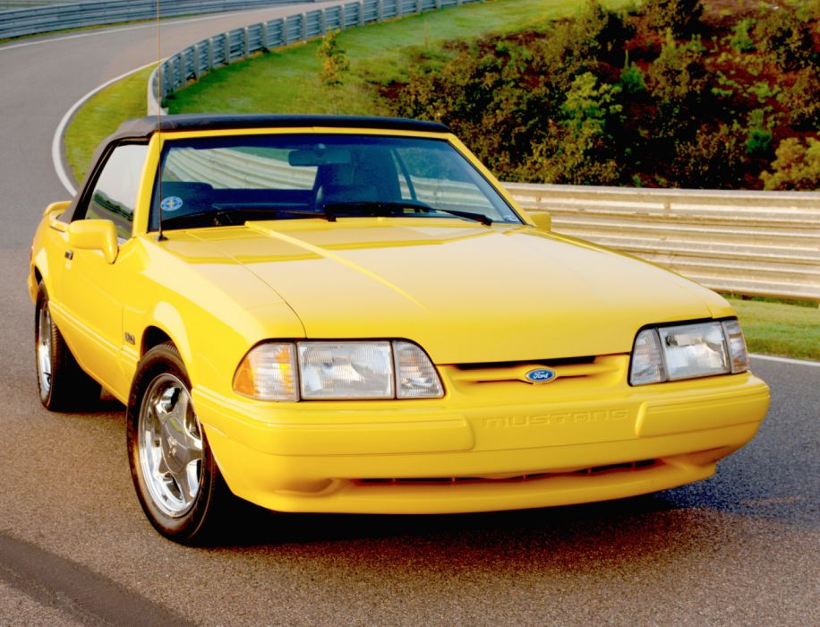 Ford Mustang LX 5 0 Convertible 1993 wallpaper
