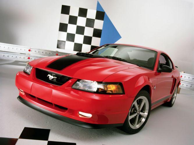 Ford Mustang Mach 1 2003 wallpaper