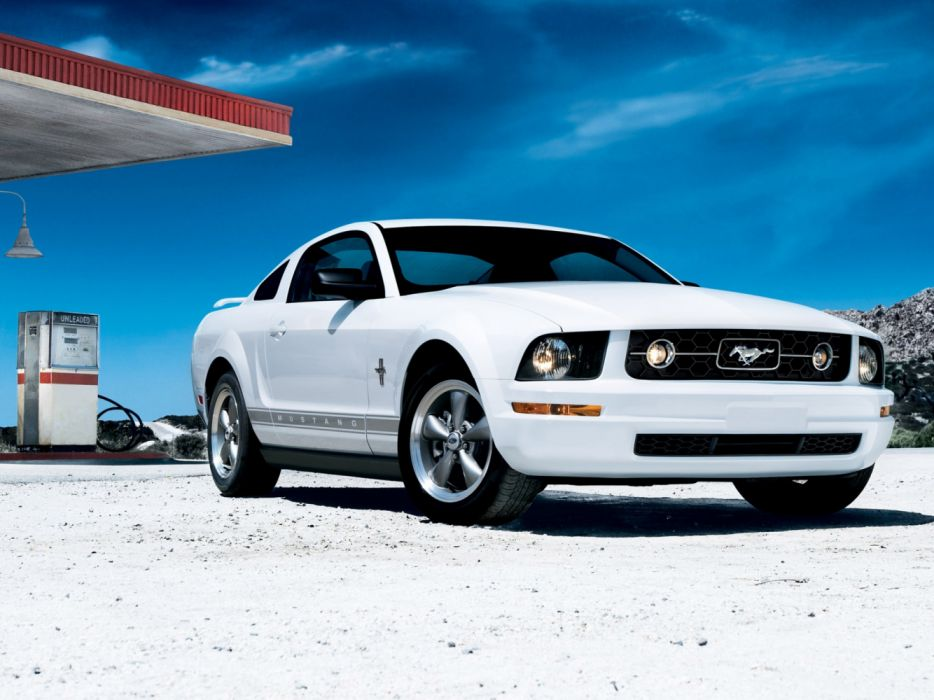 Ford Mustang Pony Package 2008 wallpaper