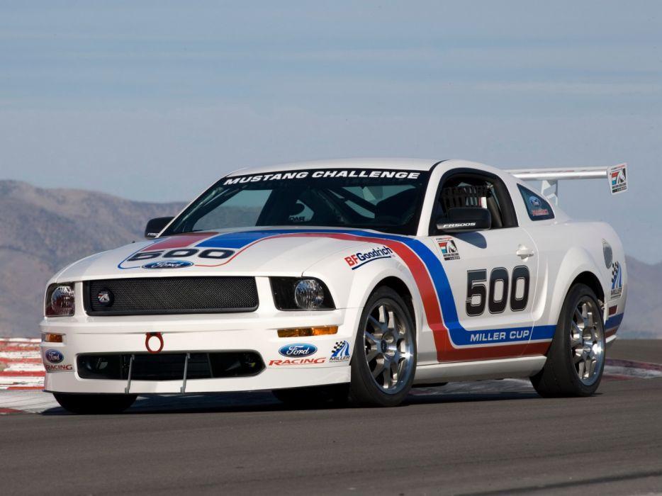 Ford Mustang Race Car 2005 wallpaper