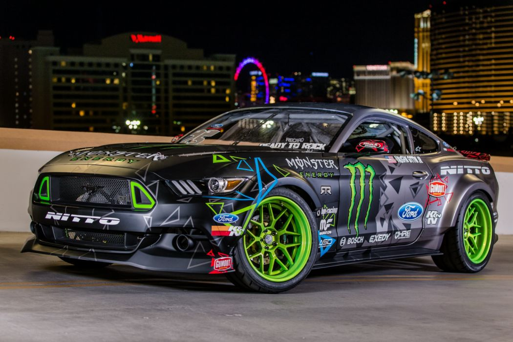 Ford Mustang RTR Competition-Spec Drift Car 2016 wallpaper