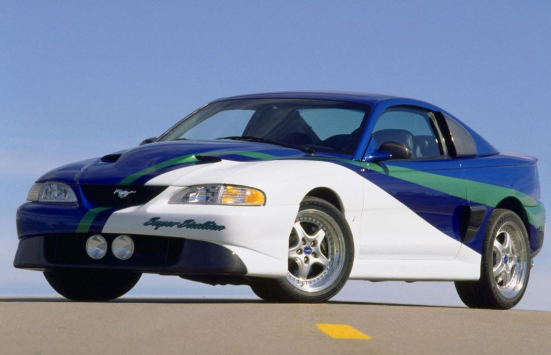 Ford Mustang Super Stallion Concept 1997 wallpaper