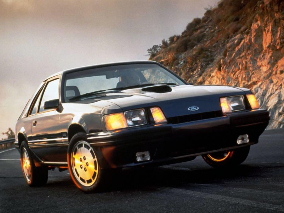 Ford Mustang SVO 1984 wallpaper