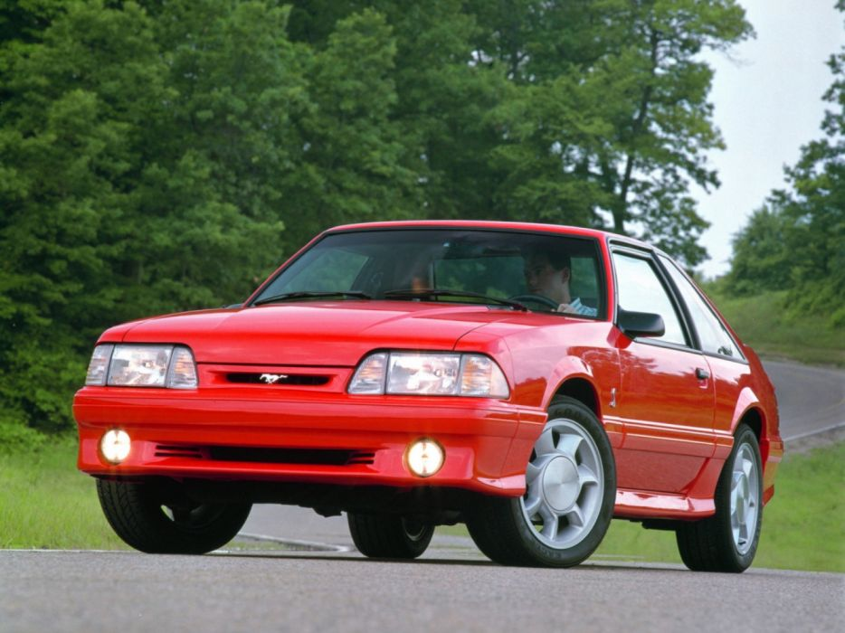 Ford Mustang SVT Cobra 1993 wallpaper