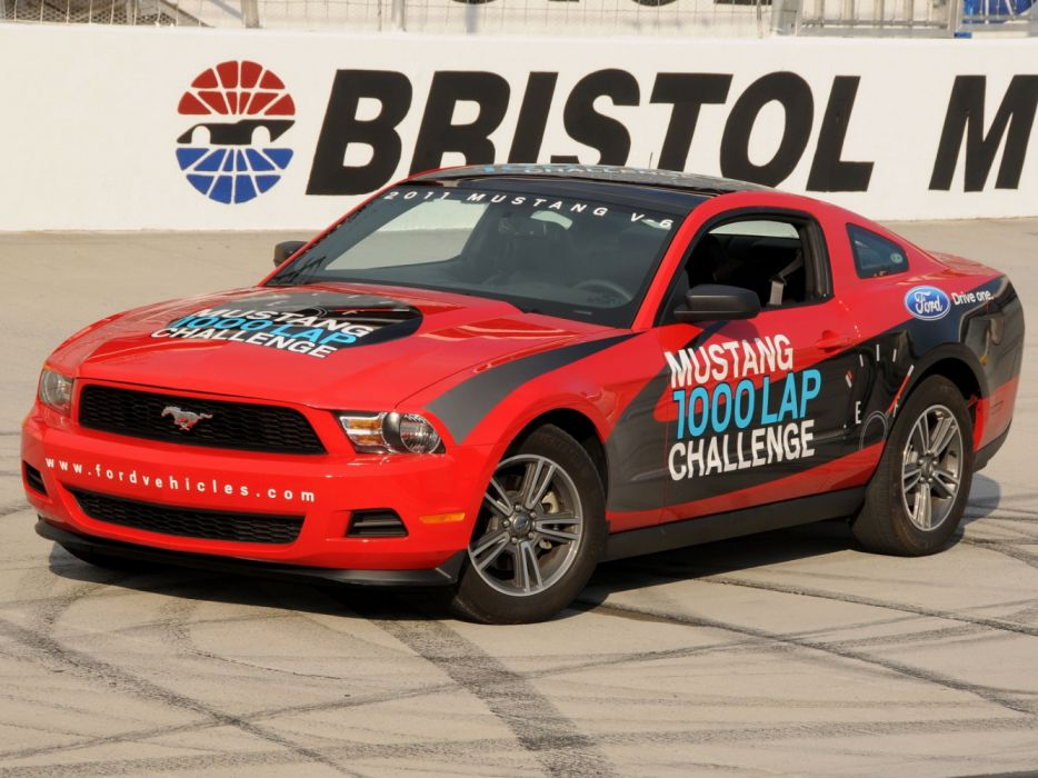 Ford Mustang V6 1000 Lap Challenge 2010 wallpaper