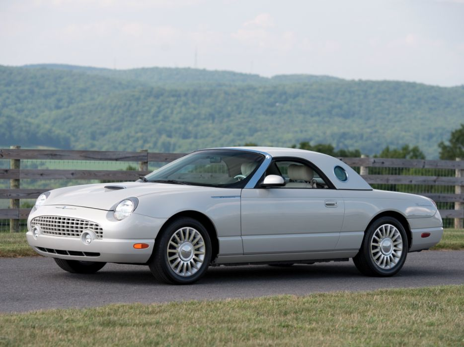 Ford Thunderbird 50th Anniversary 2005 wallpaper