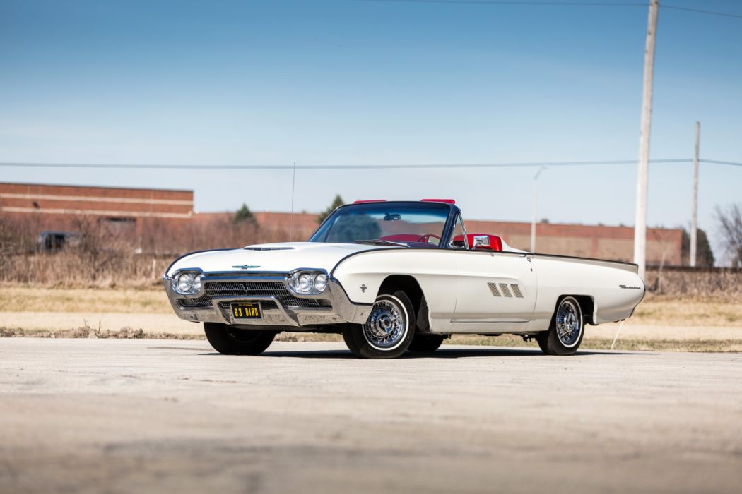 Ford Thunderbird 390-340 HP Sports Roadster 1963 wallpaper