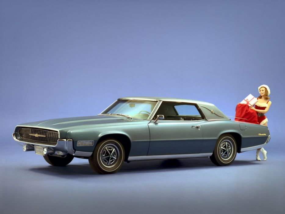 Ford Thunderbird Apollo Special Landau Coupe 1967 wallpaper