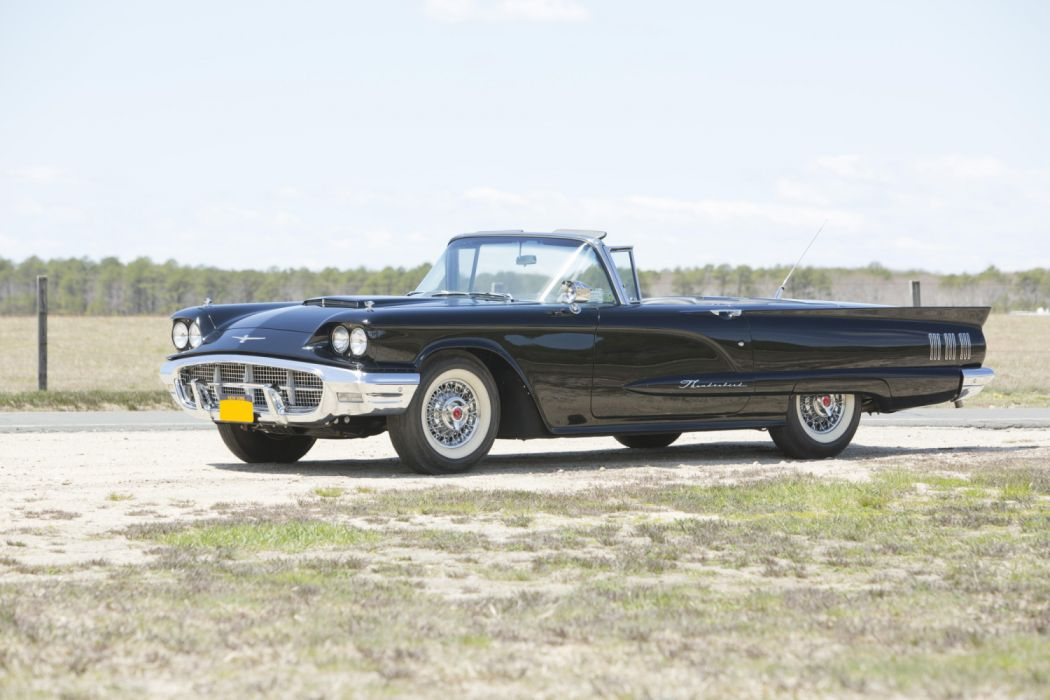 Ford Thunderbird Convertible 1960 wallpaper
