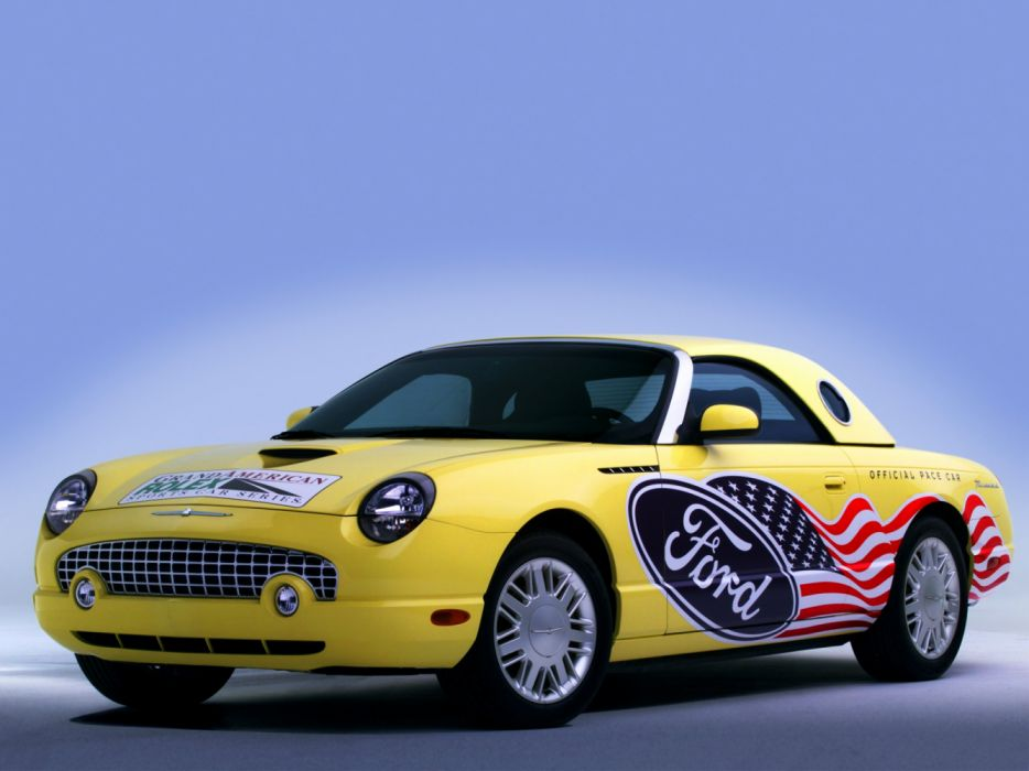 Ford Thunderbird Daytona Pace Car 2002 wallpaper
