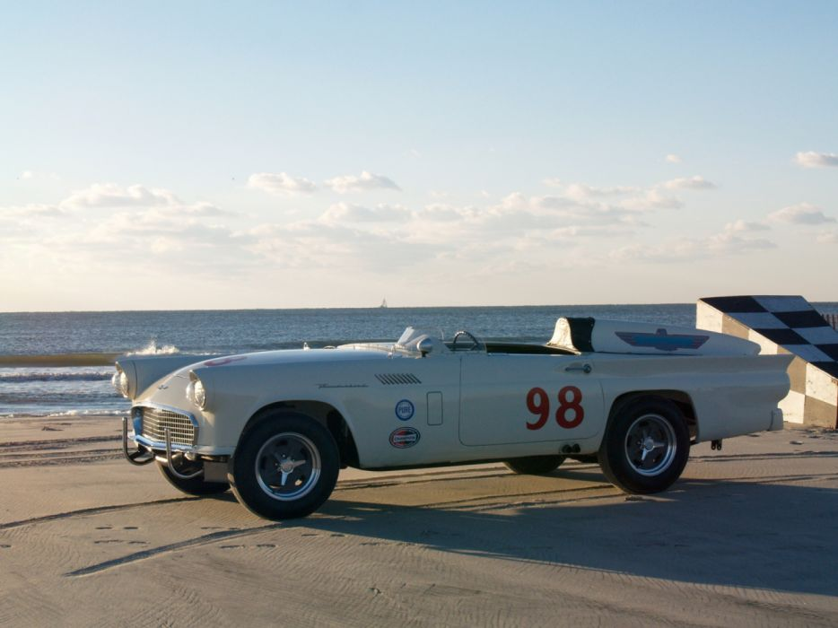 Ford Thunderbird Experimental Race Car 1957 wallpaper