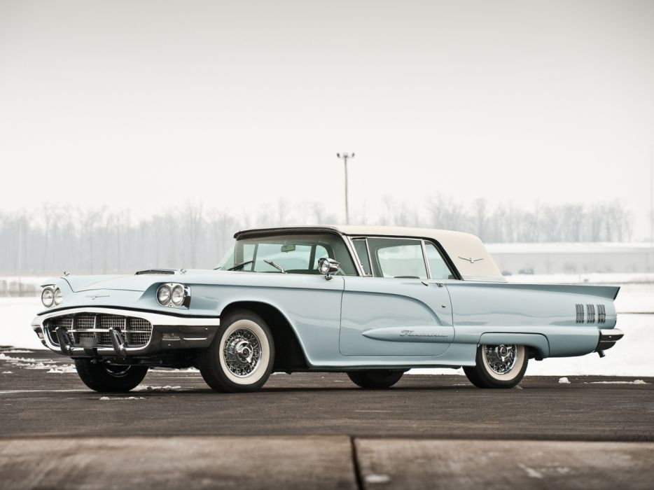 Ford Thunderbird Hardtop Coupe 1960 wallpaper