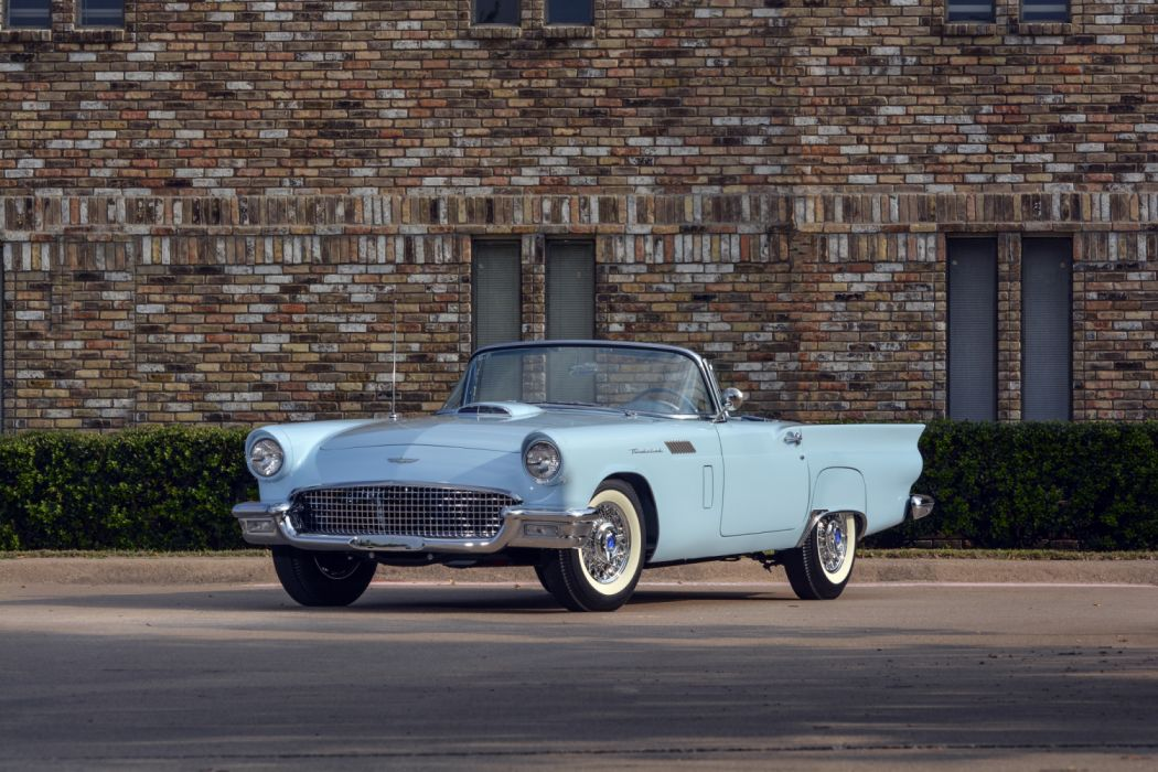 Ford Thunderbird F-Code Special Supercharged 1957 wallpaper