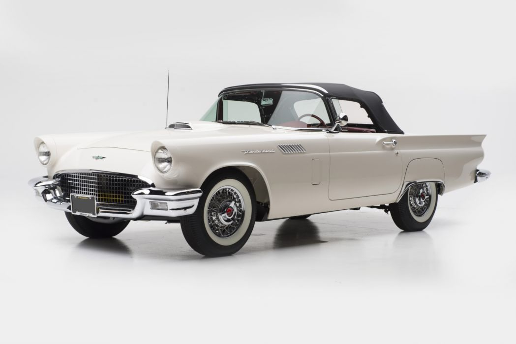 Ford Thunderbird Phase I 1957 wallpaper