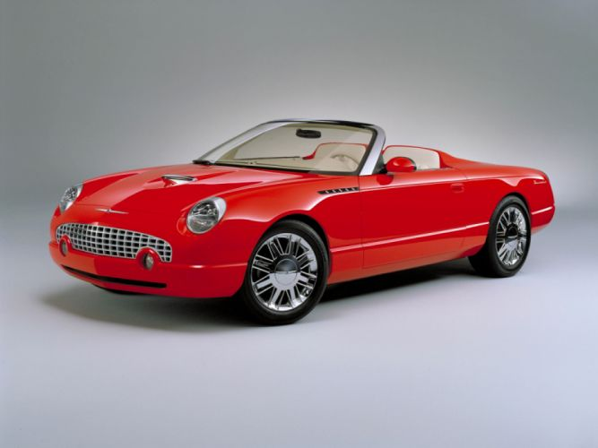 Ford Thunderbird Sports Roadster Concept 2001 wallpaper
