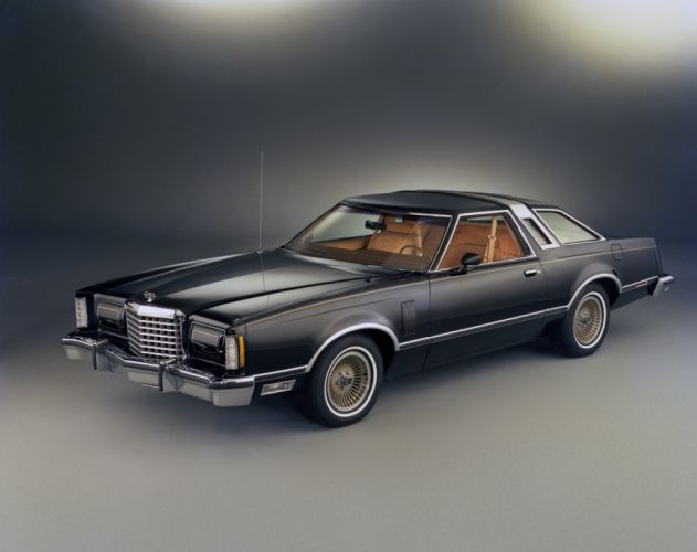 Ford Thunderbird Town Landau 1977 wallpaper