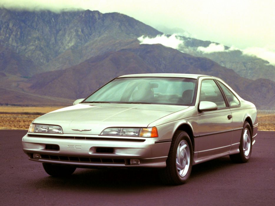 Ford Thunderbird Super Coupe 1989 wallpaper
