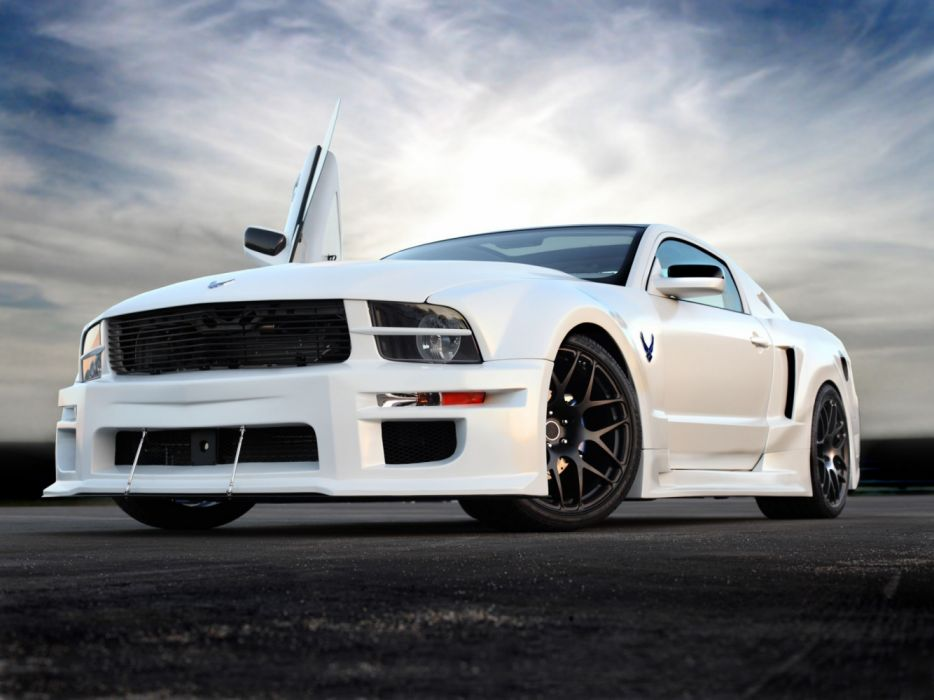 Galpin Auto Sports Ford Mustang X-1 2009 wallpaper