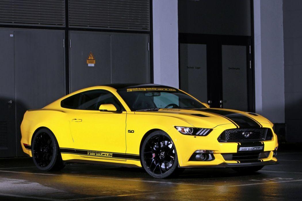 Geiger Ford Mustang Fastback GT Premium 5 0 V8 2015 wallpaper