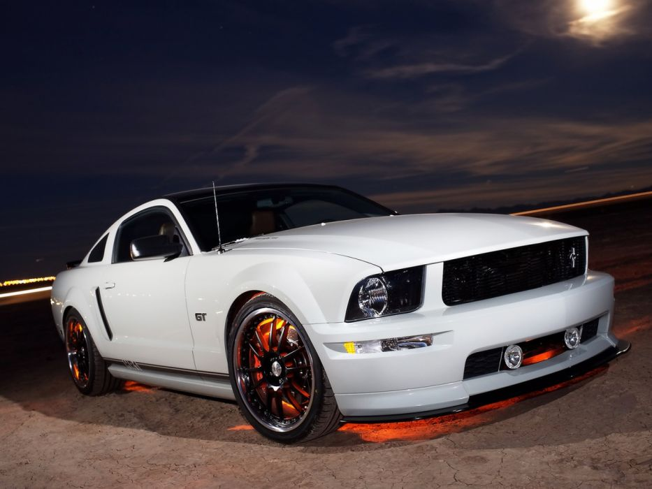 H&R FMJ Ford Mustang GT 2005 wallpaper