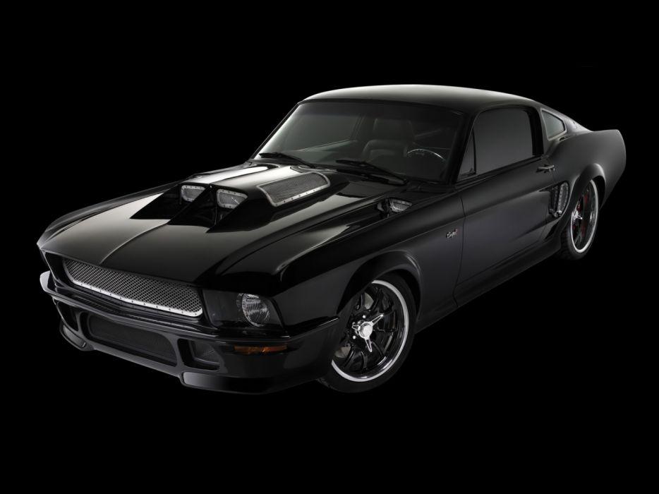 Obsidian CoupeR Mustang 2006 wallpaper
